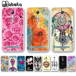Asus zenfone cAsing online shopping - phone cases AKABEILA Soft TPU Phone Cases For Asus Zenfone GO nd Gen ZB452KG ASUS_X014D ZB450KL inch Cover Nutella Flamingo Bag