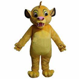 f230d43bf Simba Lion Costumes Australia - 2019 High quality hot Lion King Simba  Mascot Costume Custom Fancy