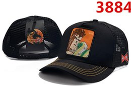 anime picture Australia - 2019 new hats Dragoner Ball anime character pictures High quality luxury Mesh adjustable baseball cap Men and women cap snapback Student hat