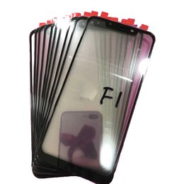 Lcd Glasses Lens Australia - XM017 For Xiaomi Pocophone F1 Poco F1 lcd Touch Screen Front Glass lens Touchpad Replacement Outer Panel Lens Cover Parts Repair