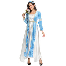 Chinese  M-xl Halloween new Snow White dress costume court princess romantic Juliet cos costume manufacturers
