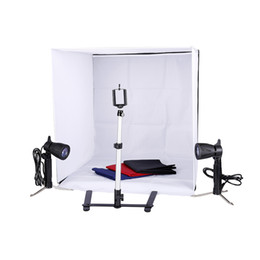 Ingrosso Photo Studio 24 pollici Fotografia illuminazione Tenda Kit fondale Cubo In A Box mini basamento Best Seller