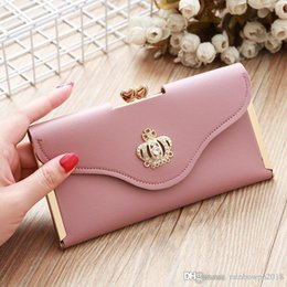 factory outlet handbags NZ - Factory outlet brand women handbag classic color women wallets new printed leather long wallet fashion multifunctional leather wallet
