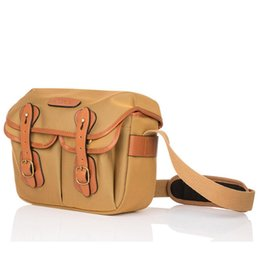 Wholesale Canvas Travel Shoulder Messenger Bag for DSLR Khaki Digital Camera