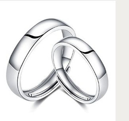 999 Ring Australia - Seiko couple ring 999 Sterling Silver men and women's ring original design simple simple aperture lithography