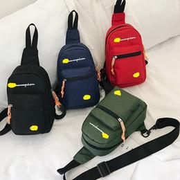 $enCountryForm.capitalKeyWord Canada - Designer Fanny Packs Champions Letter Print Waist Bag Fashion Brand Mini Nylon Shoulder Bags Travel Sports Shopping Belt Packs Phone Case