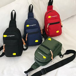 Messenger bag belt online shopping - Designer Fanny Packs Letter Print Waist Bag Fashion Brand Mini Nylon Shoulder Bags Beach Travel Sports Shopping Belt Packs Phone Wallet