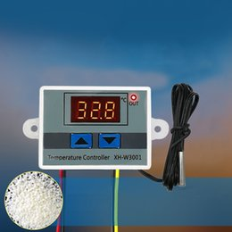 cleaning switches NZ - Temperature Controller Thermal Control Switch Multifunction Digital Temperature Controllers Waterproof Probe Accessories