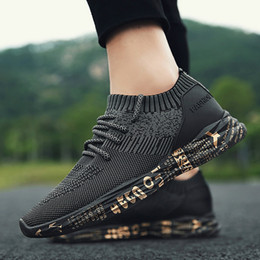 Shoes Adult Flats NZ - Men Sneakers Casual Flats Shoes Soft Fashion Male Comfortable Outdoor Footwear Chaussures Men Zapatos Male Shoes Adult Hombre