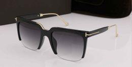 Lunettes Soleil Orange Australia - designer sunglasses luxury 0543 brand designer tom sunglasses for men show models young fashion designer glasses des lunettes de soleil