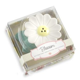 Flowers baby shower online shopping - Lovely Ceramics Baby Shower Favors Thai Plumeria Rubra Seasoning Pot Sun Flower Spice Jar Originality Exquisite Gift Hot Sale blb1