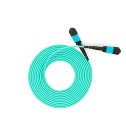 $enCountryForm.capitalKeyWord UK - 5 PCS  Lot OM3 MPO-MPO 8 Core Fiber Optic Patch Cord Cable 10GB 50 125 Multimode Fiber Optic Cable 3M