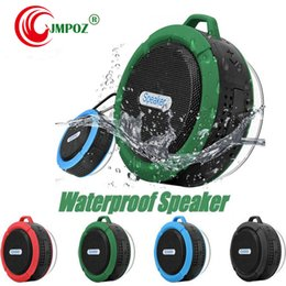 mini bluetooth sport speaker Australia - C6 IPX7 Outdoor Sports Portable Waterproof Wireless Bluetooth Speaker Suction Cup Handsfree MIC Voice Box For iphone Smartphone