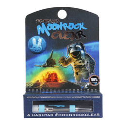Wholesale New Moonrock Clear Cart Cartridges DR Zodiak Moon Rock Atomizers Ceramic Coil Vape Pen Thick Oil ml Box Flavors Packaging Vapor Tank