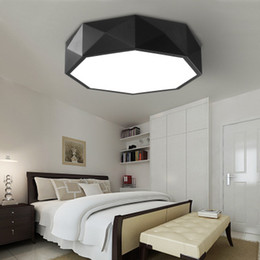 $enCountryForm.capitalKeyWord Australia - Modern Bedroom Sitting Room LED Ceiling Lights Act Role Ofing Circular Geometric Kitchen Toilet Absorb Dome Light Free Shipping