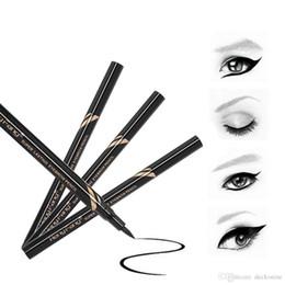 Tattooed Eyeliner Australia - New Long Lasting Waterproof Brown 7 Days Liquid Eye Brow Pencil Eyebrow Tattoo Pen Liner Convenient Eyeliner Makeup Tool Gifts