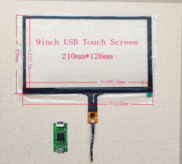 RaspbeRRy monitoR online shopping - 9 inch Car navigation car computer I2C USB interface capacitive touch screen mm mm GT911 pin Win7 Raspberry PI