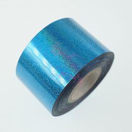 $enCountryForm.capitalKeyWord UK - 1 Roll 4CM*100M Starry Sky Laser Holographic Transfer Wrap Foil Film Star Paper Nail Art Manicure DIY Design Decorations Decals