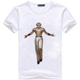 $enCountryForm.capitalKeyWord Australia - Orochi t shirt The king of fighters photo short sleeve tees World popular game singlet Colorfast clothing Elastic modal tshirt