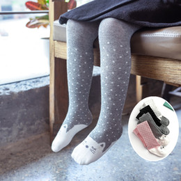 429d87a46792f2 Children's Toddler Pantyhose Tights Socks Socks Warm Tights Cotton Children  Baby Girls Pantyhose Winter Stockings 1-3 Years Old