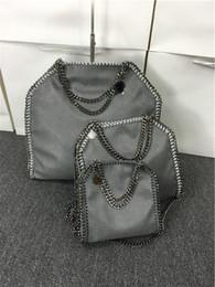 Khaki Cotton Shoulder Bag Australia - 809 styles W37cm * H36 cm* D8cm 17 color Women's fold over 3 Chain big size Tote shoulder Bags Measurement :