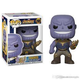 $enCountryForm.capitalKeyWord Australia - Pretty WHOLESALE Funko Pop Marvel Comics Avengers 3: Infinity War Thanos Vinyl Action Figure Toy Gift