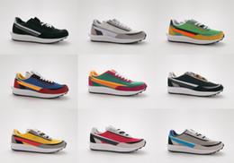 4deb0e7840 NIKE Nuevas zapatillas de deporte de diseño Sacai LDV Waffle Daybreak  Trainers Hombre para mujer de moda Breathe Tripe S Sports Running Shoes  Tamaño 36-45 ...