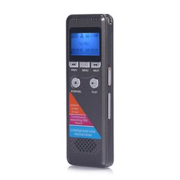 mini digital audio Australia - Portable MP3 Digital Audio Long Standby Recording Pen USB Playback Mini LCD Display Meetings Lectures Professional Dictaphone