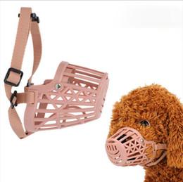 $enCountryForm.capitalKeyWord NZ - Basket Design Strong Anti-biting Dog Mouth Muzzle Mask Anti-Bite Bark Muzzles for Dogs Adjustable Straps XS~XXXL Pet Products 35