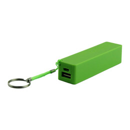Backup Power For Cell Phone Australia - CARPRIE Portable Power Bank 18650 External Backup Battery Charger With Key Chain USB Charging Mobile Phones for Cell Phone