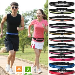 $enCountryForm.capitalKeyWord Australia - Unisex Waistpacks Jogging Elastic Waist Bags Waterproof Sports Running Case Bag Workout Pouch Cell Mobile Phone Card Key Cycling Bag