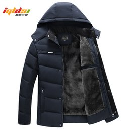 $enCountryForm.capitalKeyWord Australia - Men Winter Down Jacket And Coat 2018 New Casual Hooded Jackets Warm Fleece Down Parkas Male Fashion Thick Outwear Coats Xl-4xl SH190901