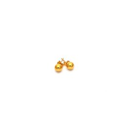 9a29625a4 simple jewelry wholesale stainless steel stud earring gold color stell ball stud  earring women jewelry ES03123