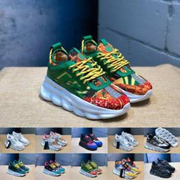 077ecb8af275 2019 Reacción en cadena Love Sneakers Sports Hombre Damas Diseñador de moda  Calzado casual Hombre Trainer Ligero en relieve Suela con bolsa