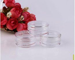 $enCountryForm.capitalKeyWord UK - Cosmetic Empty Jar Pot Eyeshadow Makeup Face Cream Container Bottle Capacity 3g 5000pcs Good Product Free Shipping
