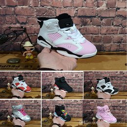 $enCountryForm.capitalKeyWord NZ - 2018 Children's 6 VI Basketball Shoes Kids 6s Sports Boys Girls Youths Baby Athletic Sneakers Cheap For Sale size 28-35