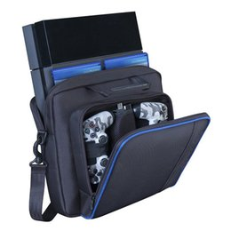 $enCountryForm.capitalKeyWord Australia - Fun Outdoor Sport PS Game Console Receiving Backpack VR Storage Organizer Pouch Data Wire Hiking Camping Shoulder Bag