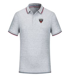 Wholesale t shirt dc for sale – custom DC United Football Team New Men s T shirt Clothing Golf Polo T Shirt Men s Short Sleeve Polo Basketball T shirt