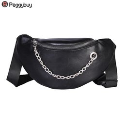 $enCountryForm.capitalKeyWord Australia - Fashion Women PU Leather Chain Hobos Shoulder Bag Waist Fanny Chest Packs Girls Phone Coins Street Style Solid Waist Bags