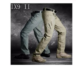 Men hunting pants Tactical Cargo Outdoor Pants Combat Swat Army Training Pants Sports Trousers for Hiking Hunting on Sale