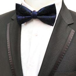 Quality Bowties Australia - 2019 High Quality Fashion Classic Paisley Men Silk Bow Tie Men's Bowties For Butterfly Cravat Plaid & Checks Tuxedo Bow Necktie