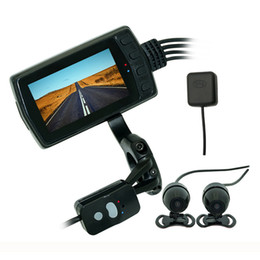 car dvr camera wifi Australia - MT011GPS WiFi Driving Recorder IP65 Waterproof 1080P Motorcycle Camera Double Lens DVR car