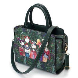 Ladies Green Handbag Australia - good quality Forest Green Crossbody Bag For Women Bags Designer Handbag Ladies Messenger Bags Shoulder Bag Sac A Main Femme De Marque