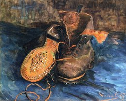 van shoes 2021 - A pair of shoes by Vincent Van Gogh Home Wall Art Decor Handcrafts  HD Print On canvas Wall Art Canvas Pictures 190906