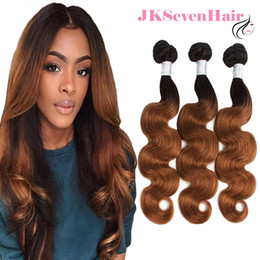 $enCountryForm.capitalKeyWord Australia - 1B 30 Brazilian Virgin Human Body Wave Hair Extensions 3 Bundles Dark Root 30 Malaysian Peruvian Indian Remy Hair Weaves With Thick Bottom