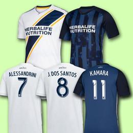 Jacket galaxy man online shopping - New IBRAHIMOVIC LA Galaxy shirt Los Angeles Galaxy soccer Thailand GIOVANI COLE ALESSANDRINI CORONA football suit jacket