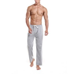 wholesale fashion sweatpants NZ - Comfortable Autumn Pants Men Fashion Solid Pantalones Hombre Sport Trousers Casual Loose Sweatpants Slim Gym Joggers Sleepwear