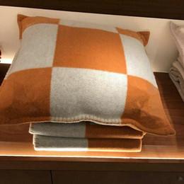 Venta al por mayor de Funda de cojín de lana 45x45cm / 65x65cm sin cubierta de funda de almohada