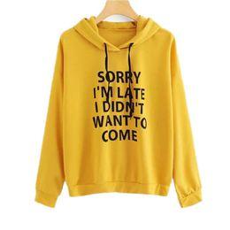 b6b845813952 Cute ladies hoodies online shopping - 2018 Women Hoodies Casual Lady  Sweatshirts Long Sleeve Loose Pocket