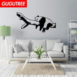 $enCountryForm.capitalKeyWord Australia - Decorate Home trees panda cartoon art wall sticker decoration Decals mural painting Removable Decor Wallpaper G-2164